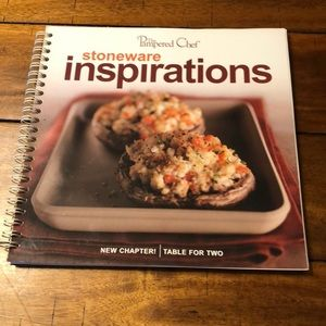 Pampered Chef Stoneware Inspirations Cookbook